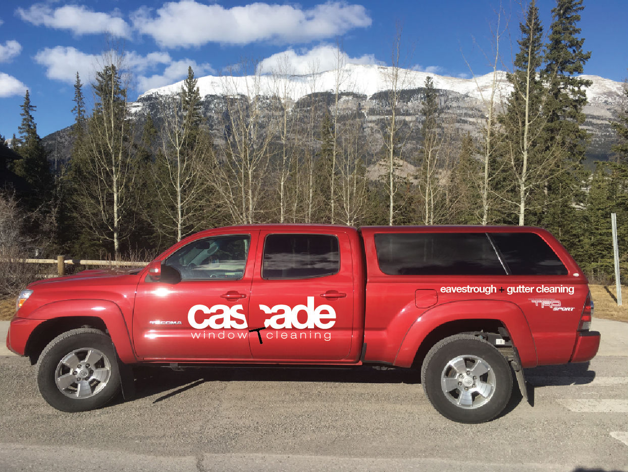 Cascade window cleaning Truck